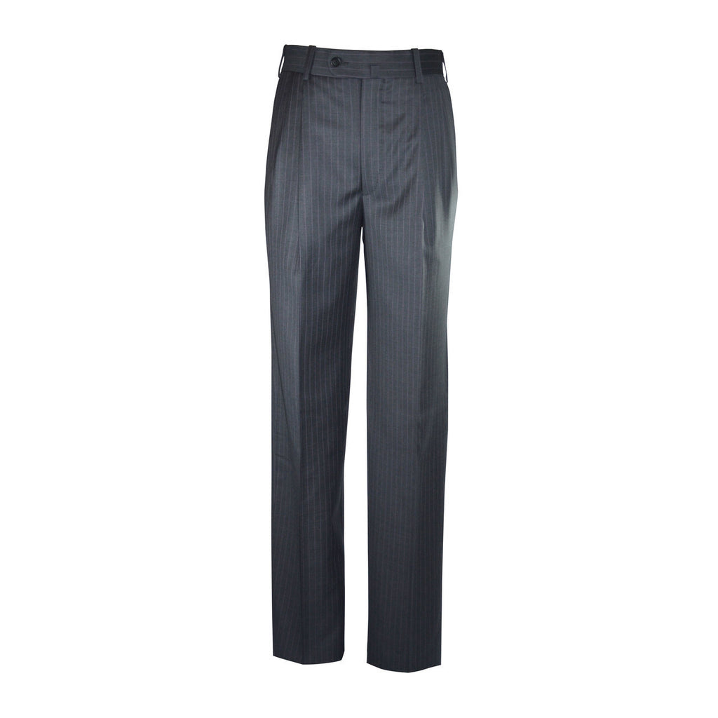 Newport Pleated Front Trouser - Grey