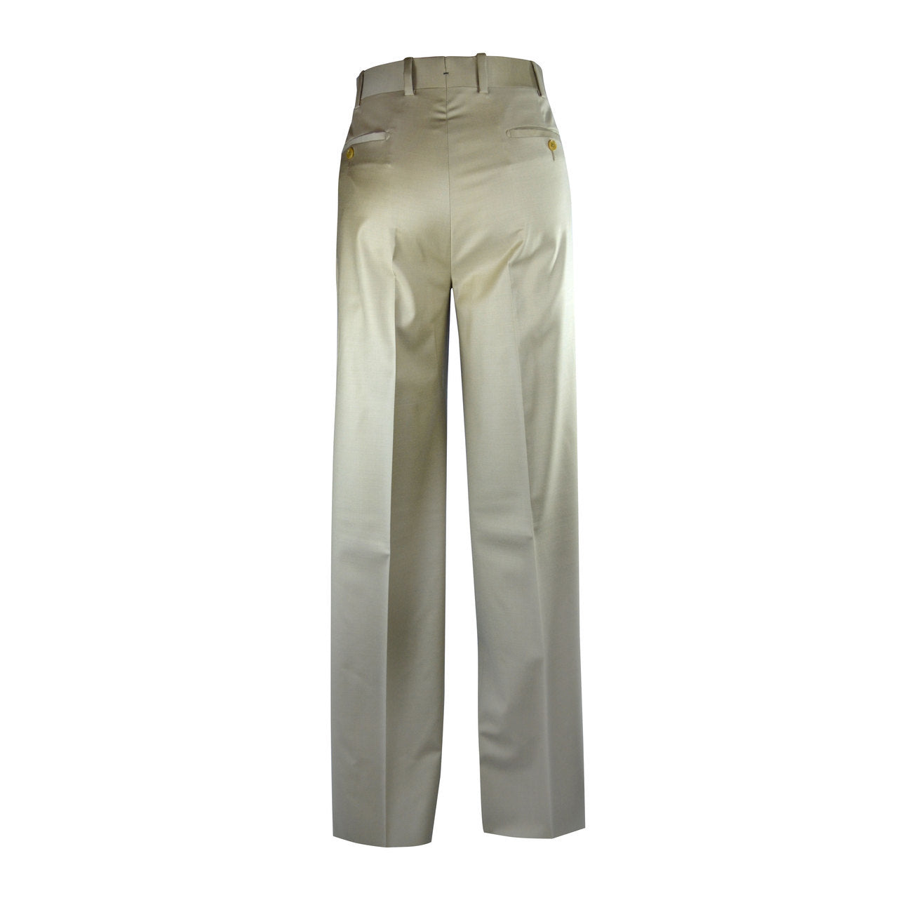 Newport Pleated Front Trouser - Stone