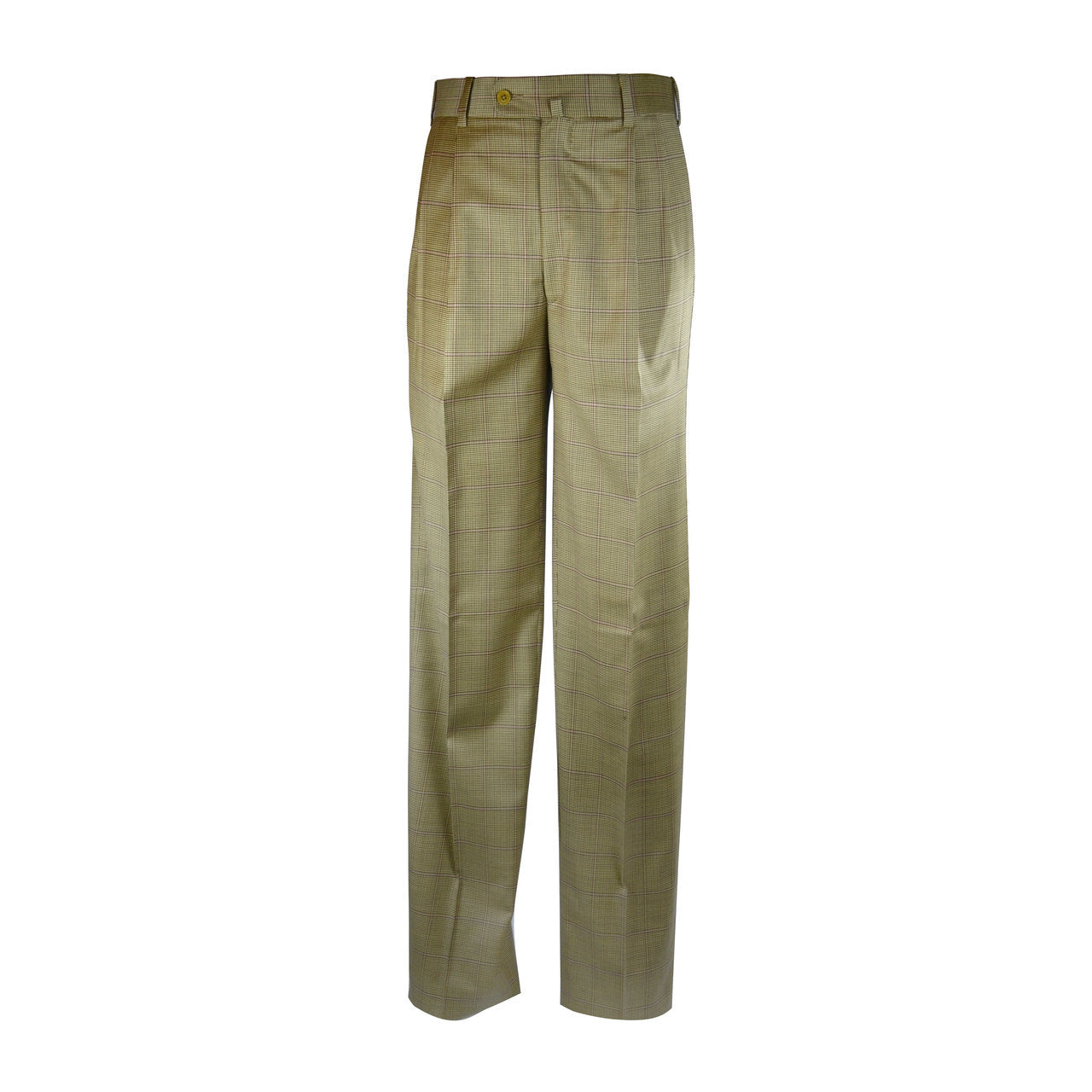 Newport Pleated Front Trouser - Saddle