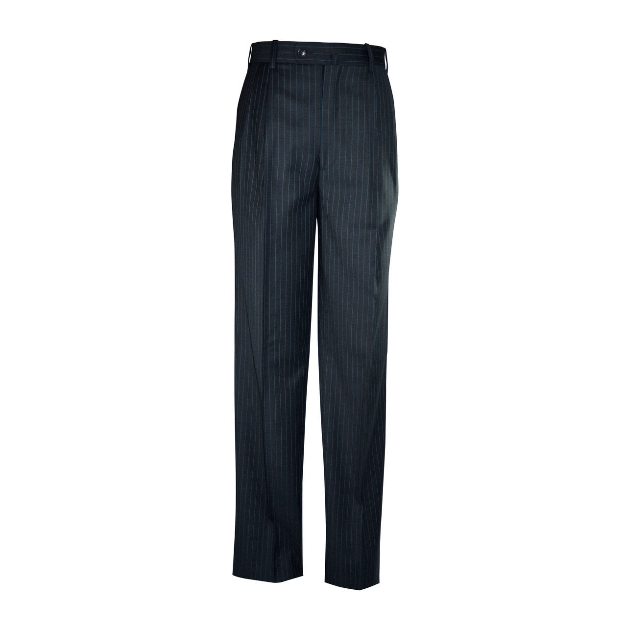 Newport Pleated Front Trouser - Charcoal