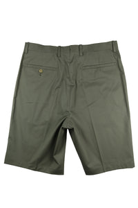 Laguna Trim Fit Golf Short - Olive Green