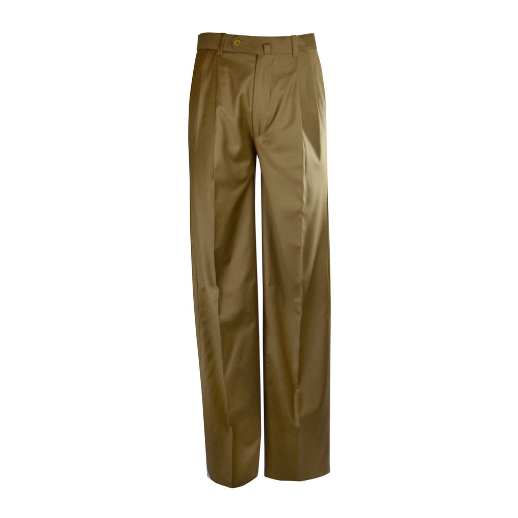 Newport Tobacco - Pleat Front Trouser