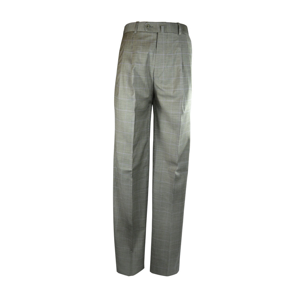 Newport Pleated Front Trouser - Asphalt