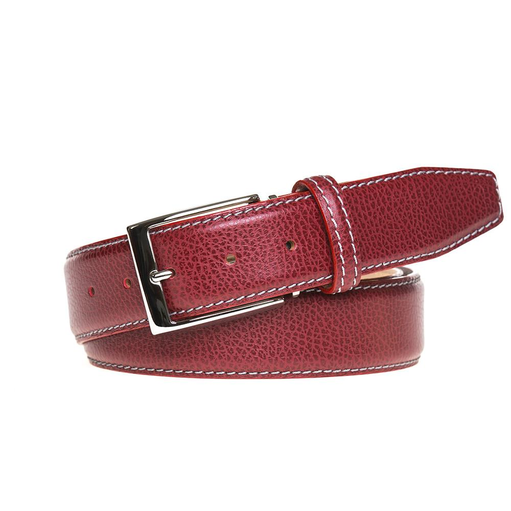Pebble Grain Belt - Red