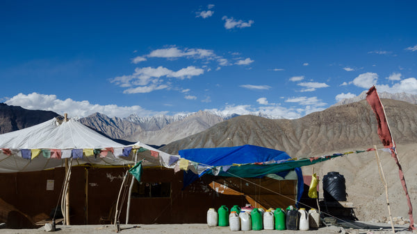 Tea shops such as these are the lifeline of road travel in Ladakh. Steaming cups of tea (whatever type you fancy!), with boiled eggs or maggi noodles were often our staple diet on the road.