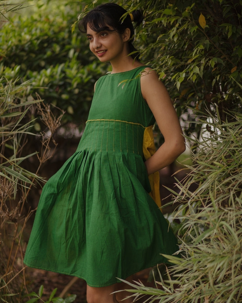 Wear Your Greens Pleated Tunic