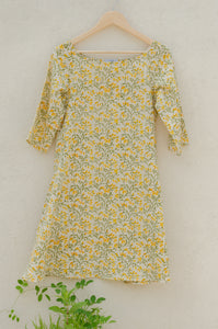 Goldfields Flared Dress