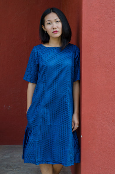shift dress online,vintage shift dress,shift dress for women,blue shift dress