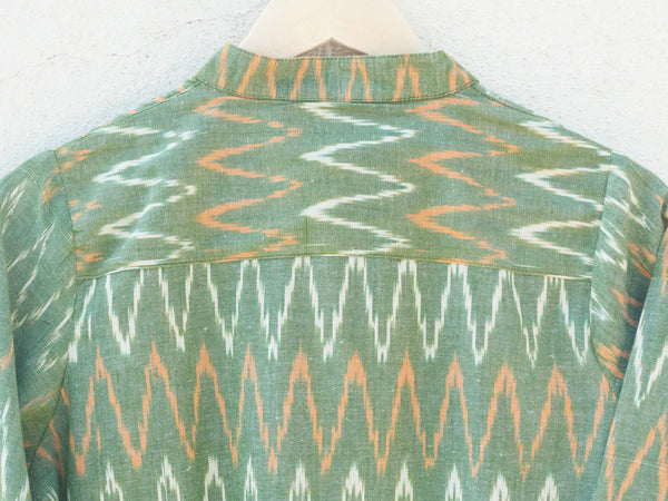 Green Ikat Dress / Kurta