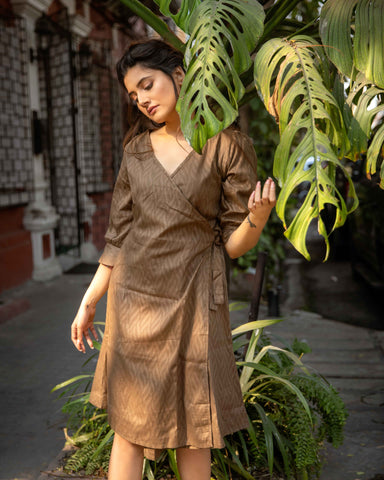 Fern Wrap Dress