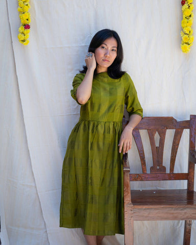 Adventuress Silk Cotton Dress