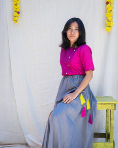 Sylph Grey Skirt