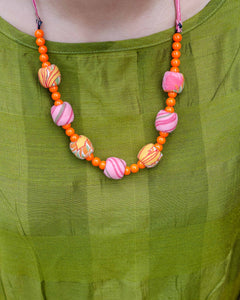 Iti Beaded Neckpiece