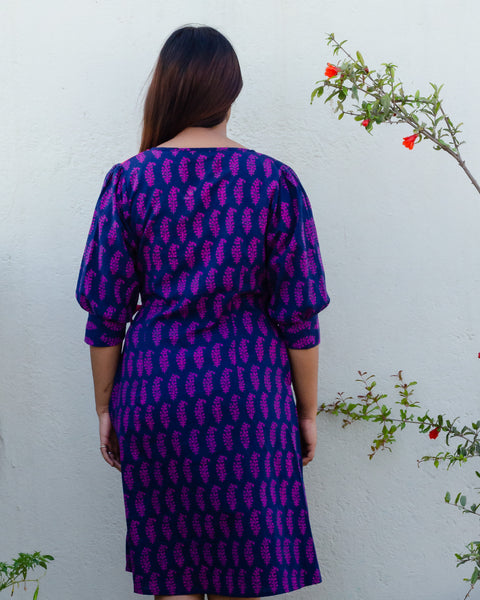 Aine Wrap Dress