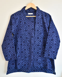 Dark Blue Cotton Shrug