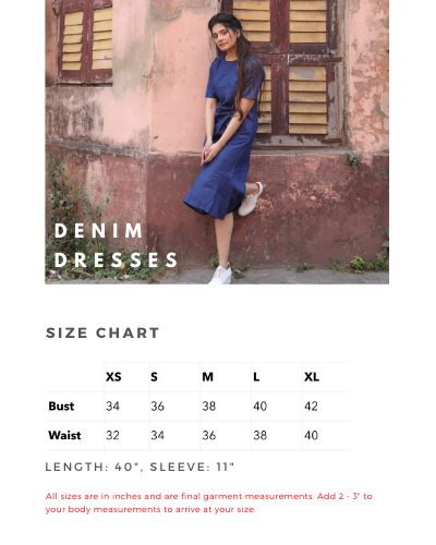 Jane Denim Dress