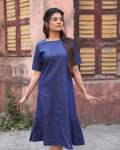 Hester Denim A-Line Dress