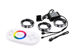 Deepcool RGB 360 Magnetic LED Light Strips (3x50cm), 16.8 Million Colours, Remote, RGB Sync Compatible