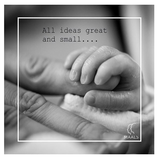 All ideas great and small