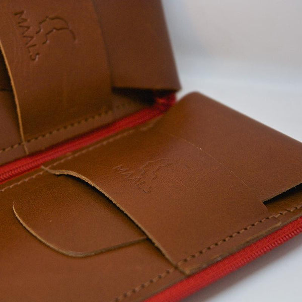 MAALS connecting leather watch pouches