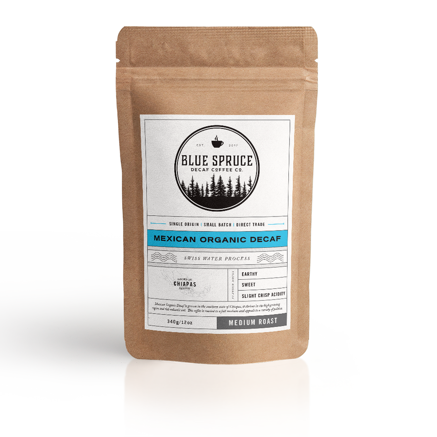 Mexican Organic Swiss Water Decaf - Medium Roast 12oz