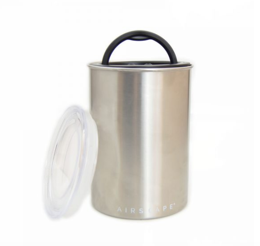 Airscape Coffee And Food Storage Canister 64oz