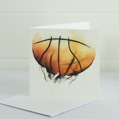 Basketball Greetings Card