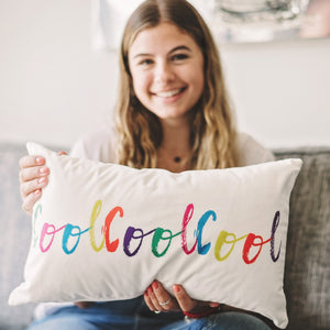 CoolCoolCool Velvet Cushion