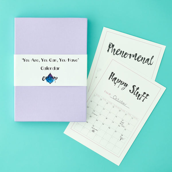 'You're Inspirational' Personalised Calendar For Teens