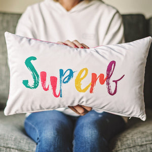 'Superb' Velvet Cushion