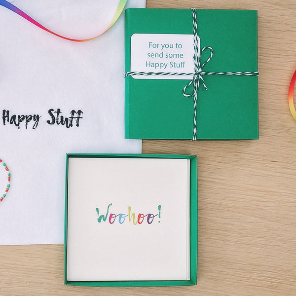 Happy Stuff Greetings Cards Set