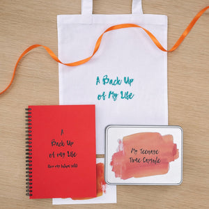 'A Back Up Of My Life' Gift Set
