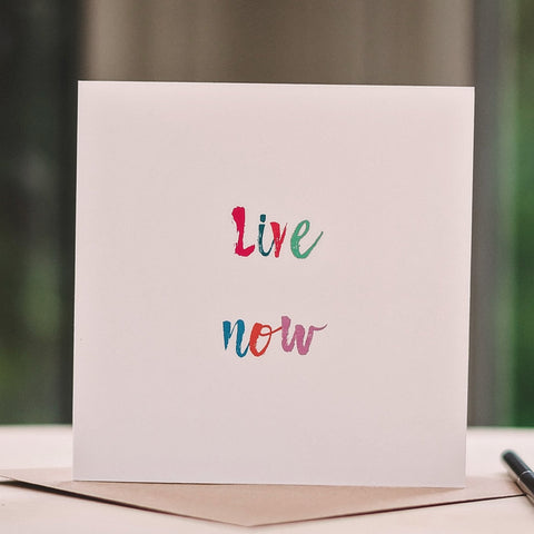 'Live Now' Card