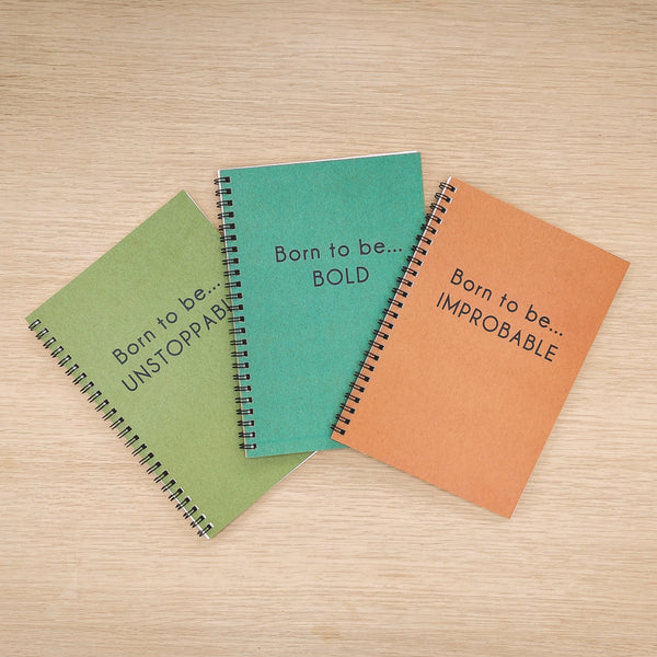 Born To Be Improbable Eco Notebook