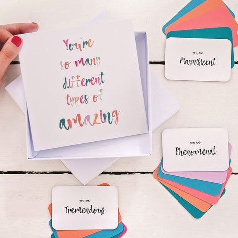 'You're So Amazing' Keepsake Birthday Card