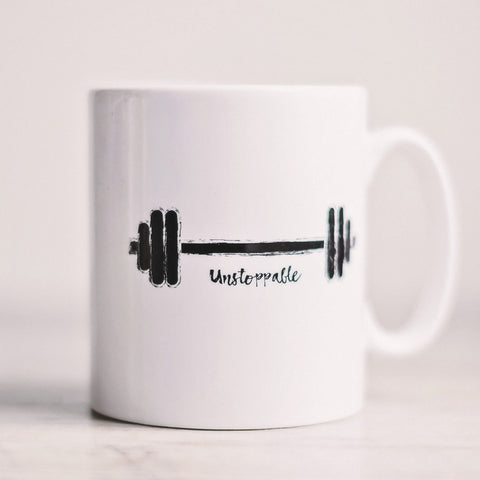 'Unstoppable' Workout Mug