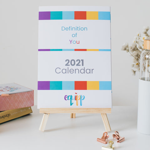 'Definition of You' Wall Calendar