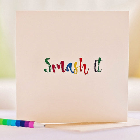 'Smash It' Card