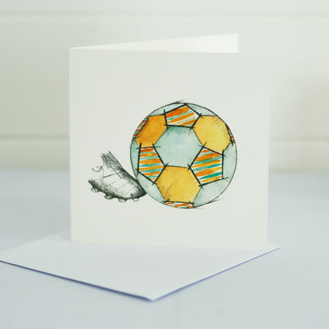 Football Greetings Card
