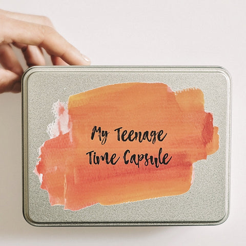 My Teenage Time Capsule - Orange