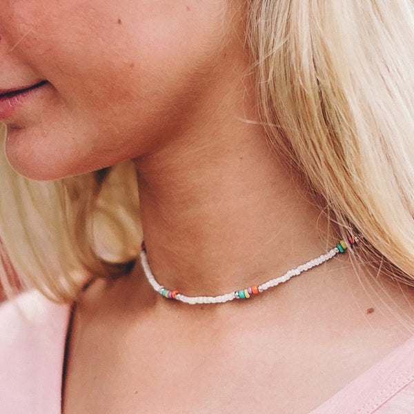 Shady Beach Choker Necklace