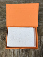 Boxed Stationery Set Orange - Ellie Poo