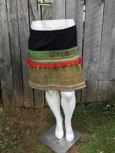 Thai Hmong Short Skirt - One Size No. 1