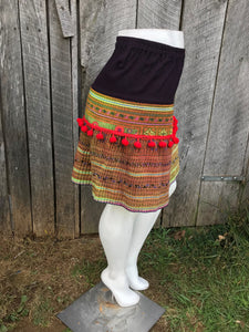 Thai Hmong Short Skirt - One Size No. 4