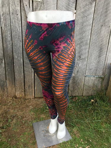 Super Soft Thai Tie Dye Leggings - Plus size No. 4