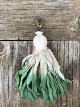 Handmade Dip Dyed Bag Charm/Key Chain - GPT