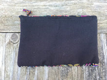 Vintage Handmade Huilpil cosmetic bag pouch  no. 15
