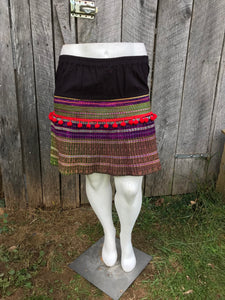 Thai Hmong short skirt - One Size No. 3