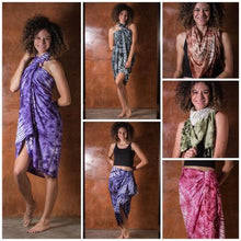 Thai Tie Dye Sarong/Beach Blanket - one size No. 3