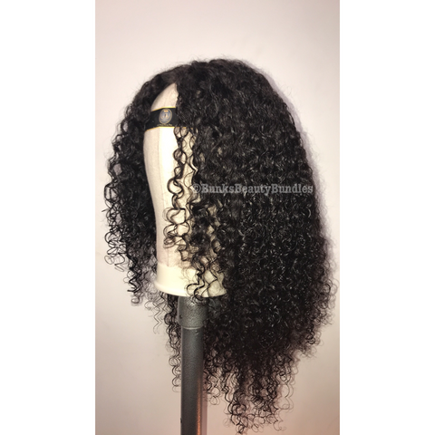 Deep Curly Closure Wig